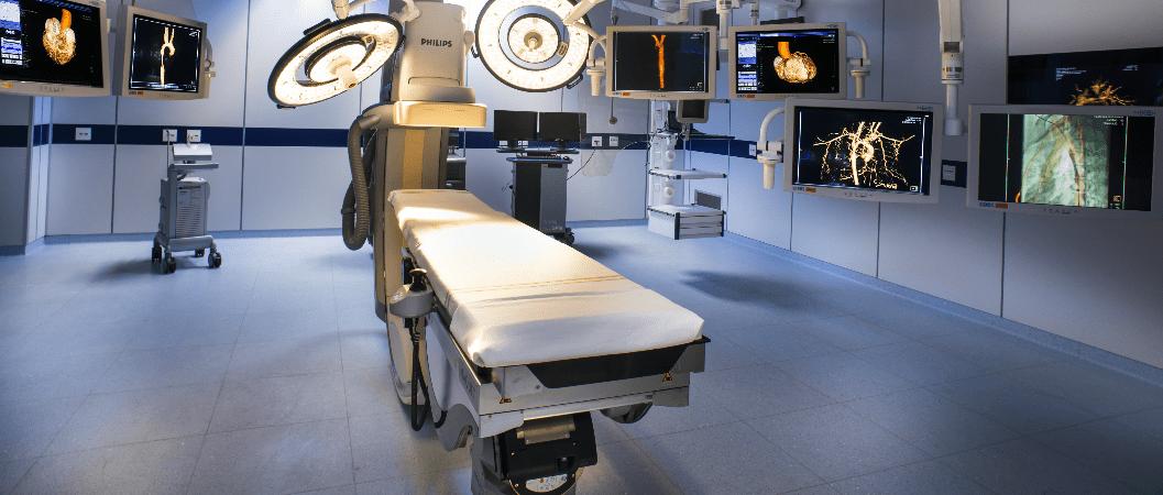 Centro cirúrgico com infraestrutura superior