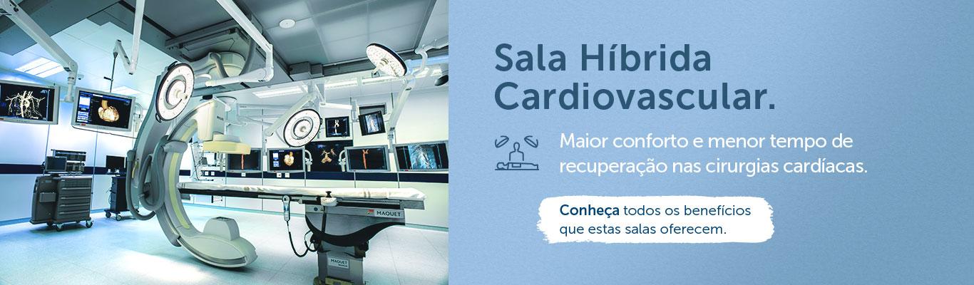 Sala Híbrida Cardiovascular