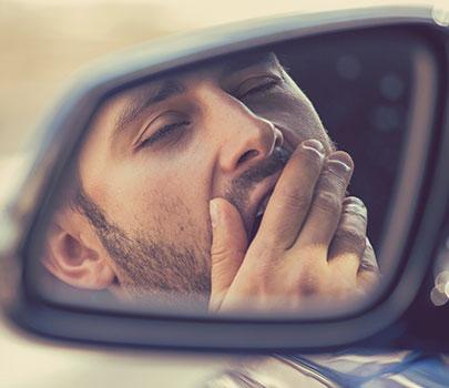 Má qualidade do sono pode levar à acidente de trânsito durante férias