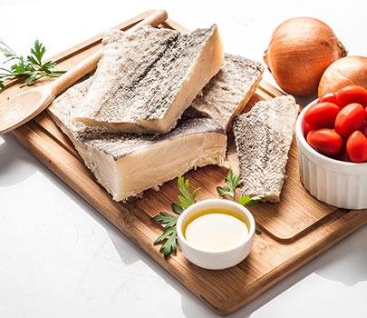Saiba como preparar uma receita saudável de bacalhau