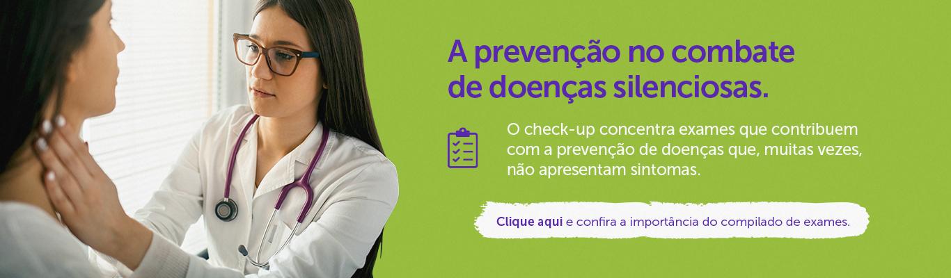 Check-up Na prevenção de doenças (Diagnóstico)