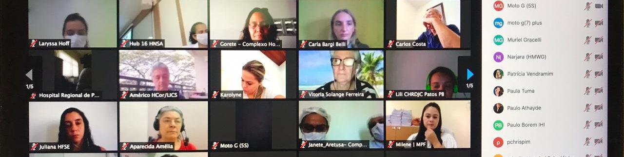 HCor usa videoconferência para treinar hospitais da rede pública do Brasil a combater pandemia de novo coronavírus
