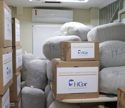 Associação Beneficente Síria e HCor doam 1,5 tonelada de equipamentos de proteção individual à hospital no Macapá