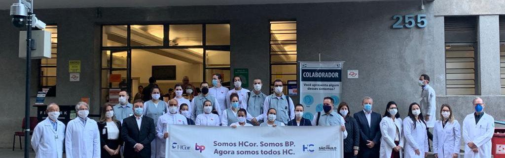 BP – A Beneficência Portuguesa de São Paulo e HCor apoiam criação de leitos de UTI no Hospital das Clínicas